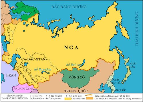 Dịch vụ chuyển phát nhanh quốc tế đi Nga