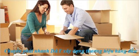 Chuyển phát nhanh D&T xây dựng thương hiệu hàng đầu